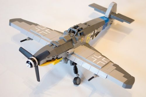 Me109 G-6: A LEGO® creation by James Taylor : MOCpages.com