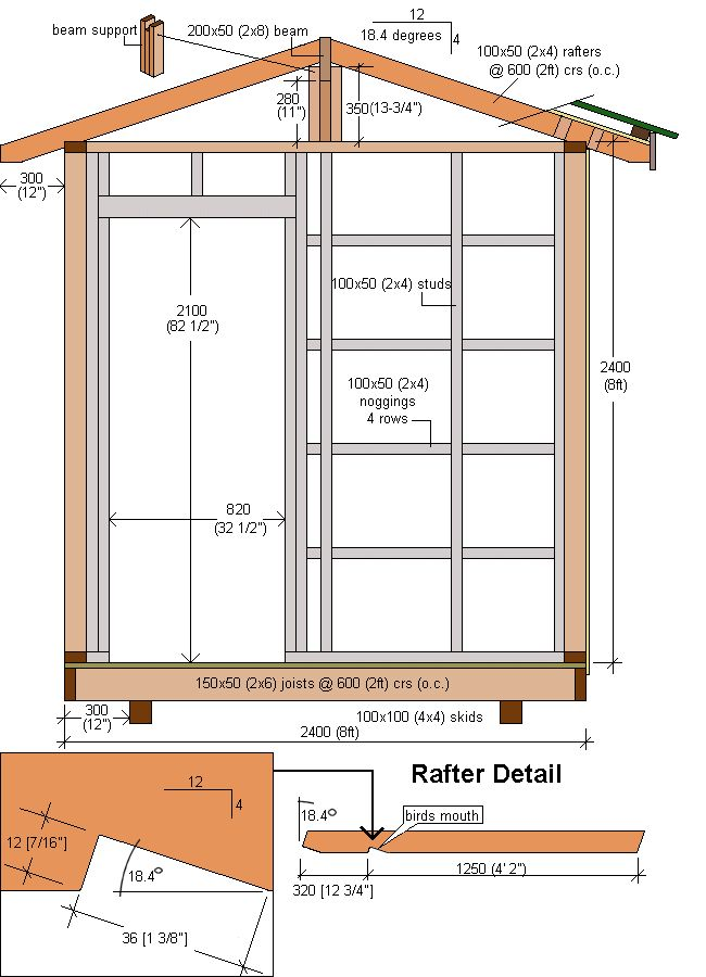Shed Plans, Free Shed Plans And Sheds On Pinterest