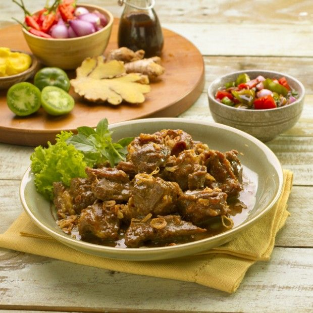 Resep tumisan kambing ini bisa menjadi salah satu pilihan masakan di Hari Raya Idul Adha. DItambah dengan Kecap Bango, lebih nikmat.