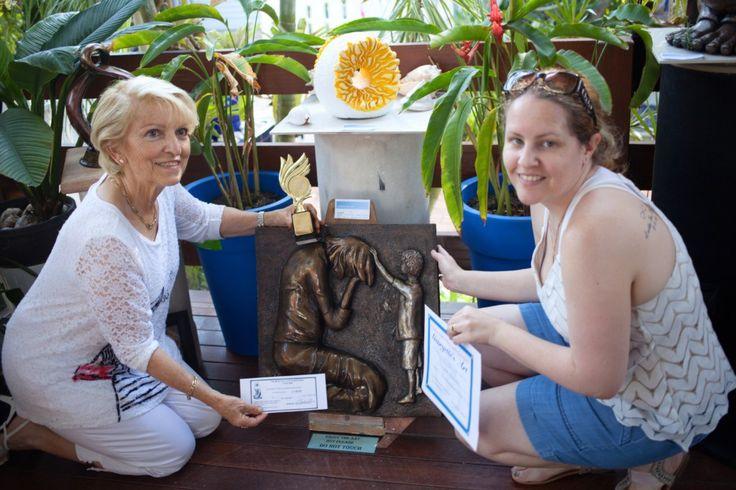 The winning sculpture