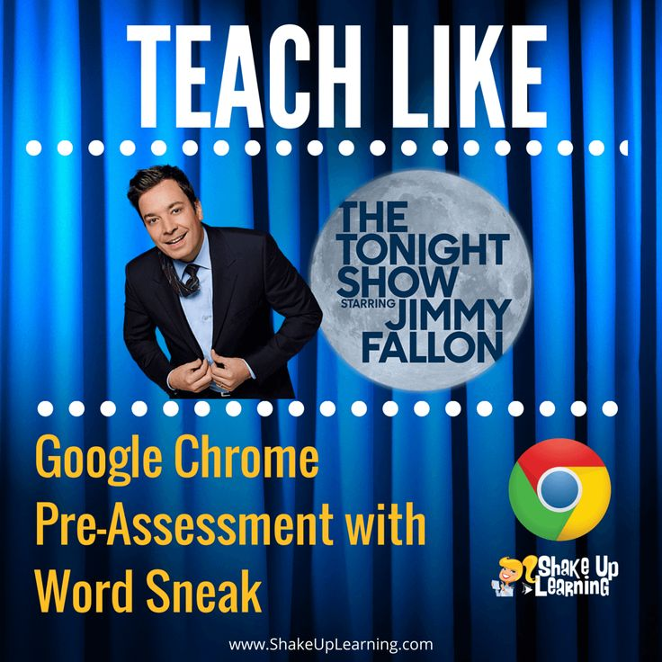 PinterestBring the fun of Jimmy Fallon into the Classroom with Word Sneak! It's time to Teach Like The Tonight Show again! I love to watch Jimmy Fallon on The Tonight Show! It always makes me smile, and I love the creative games he plays with the guests. So I will take any excuse to bring a little Fallon fun into the classroom. As I mentioned in my previous post, I love Jimmy Fallon and The Tonight Show, and I am always looking for ways to engage students and teachers using some of the…