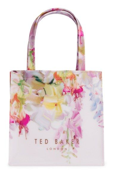 6b183cb61 Ted Baker London  Hanging Garden  Small Floral Icon Tote available at   Nordstrom