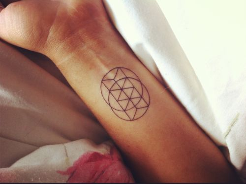 sacred geometry tats