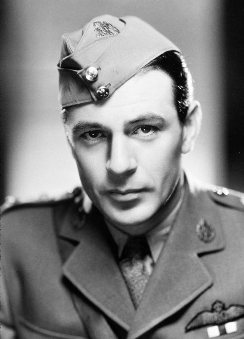Gary Cooper (actor) - Died May 13, 1961. Born May 7, 1901. A son of British immigrants to America, he was a stunt man before making classic movies like Sergeant York, High Noon, and Pride of the Yankees.