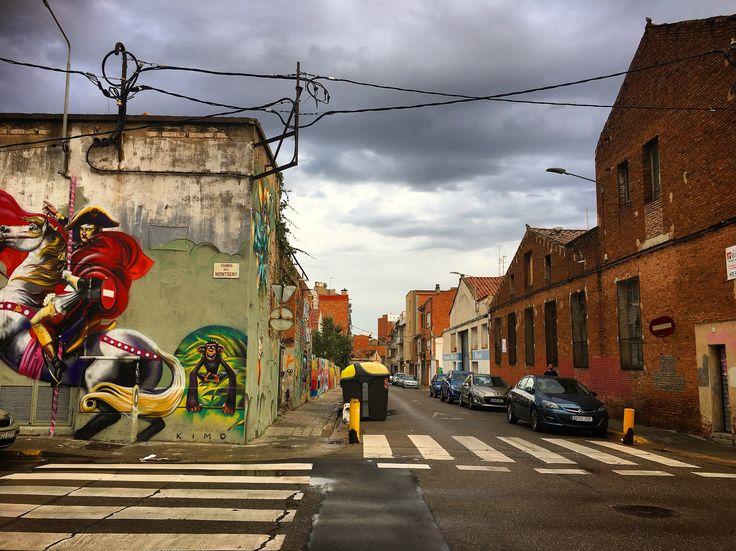 Sabadell. Creu Alta. Street Art.