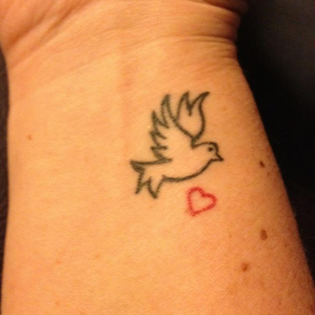 Dove Tattoos On Wrist | www.imgkid.com - The Image Kid Has It!