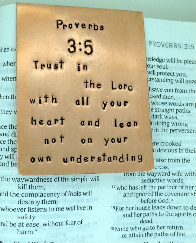 12 best bible verses images on pinterest thoughts bible verses hand stamped copper bookmark bible verse by snappinstudio on etsy negle Images