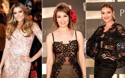 @geralkeys https://www.facebook.com/Geraldinekeeyss-840801652636770/?fref=nf Puras curvas, escotes y vestidos ceñidos con las famosas más bellas de l...