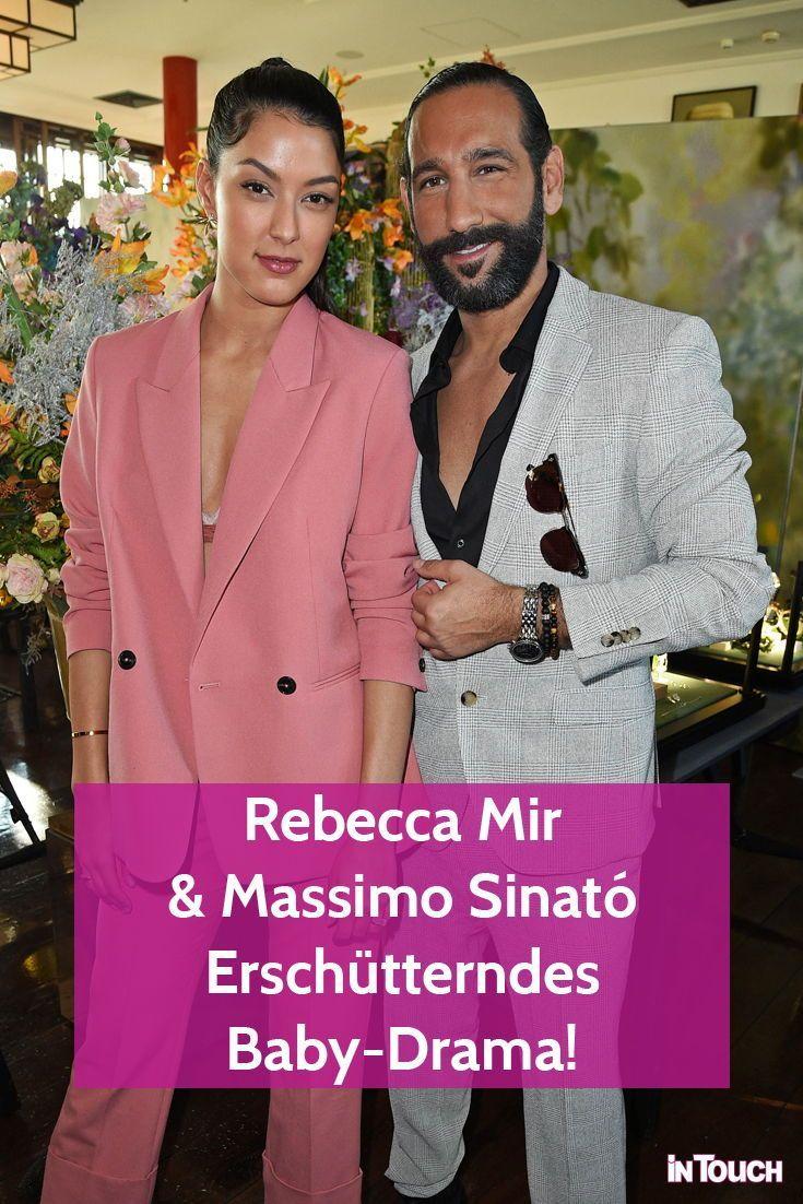 Rebecca Mir Massimo Sinato Bitteres Baby Drama Schwanger Prominente Mode Fur Vollschlanke Gesicht Yoga