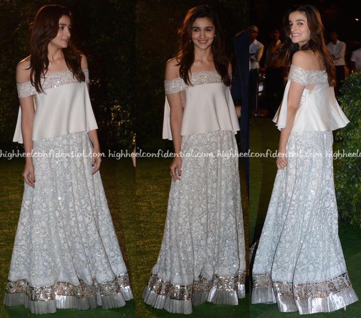 Alia Bhatt Wears Manish Malhotra To Trishya Screwvala-Suhail Chandhok Wedding Reception-1