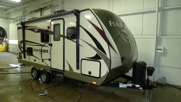 LET THE FUN FIND YOU IN THIS SWEET RV!  2017 Cruiser Fun Finder Xtreme Lite 19RB This 22' long, 4045 lb. RV is the perfect size for someone who wants to enjoy the beauty of the great outdoors while still having some of the basic comforts of home. You won't need a super-duty truck to tow it, and you don't need to break the bank to call it yours! Are you ready for some fun? Give our Fun Finder Xtreme Lite expert Gabrielle Selvius a call 616-890-3879 for pricing and more information.