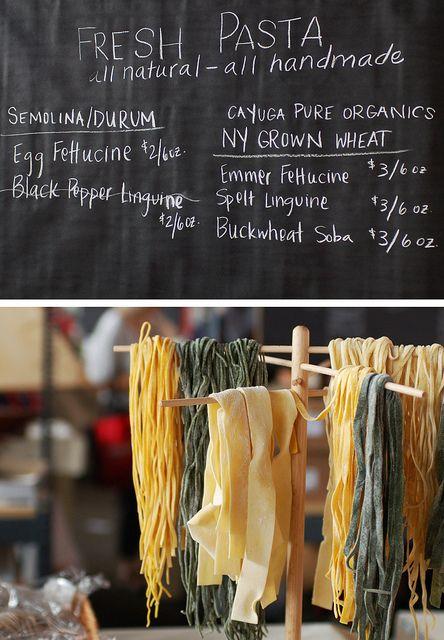 Fresh pasta with durum semolina: only this in  #GarganoDestination