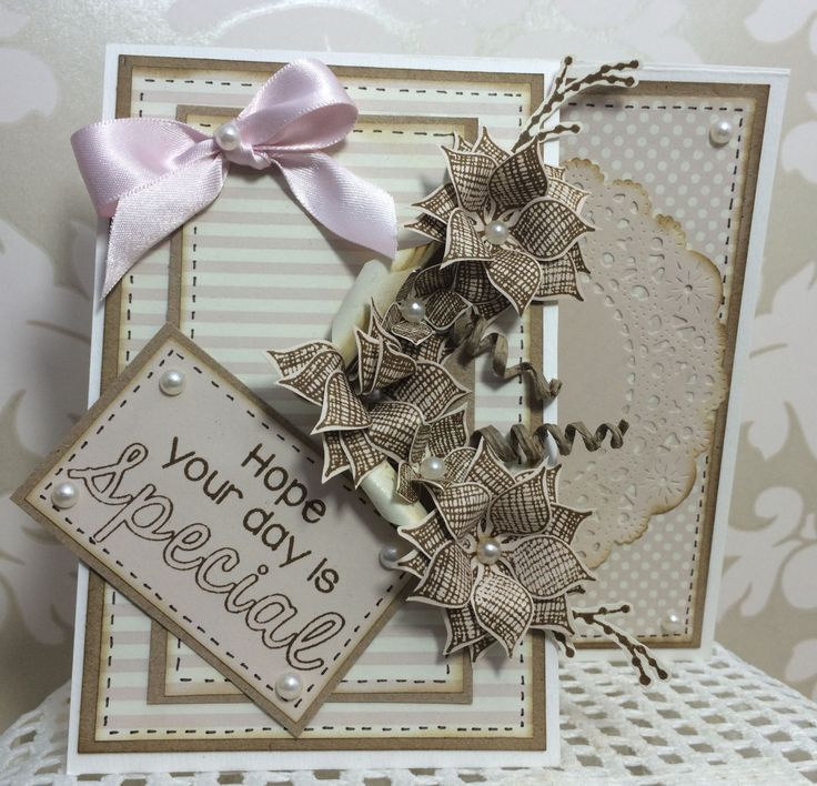 Dreamees Hessian flowers stamp set