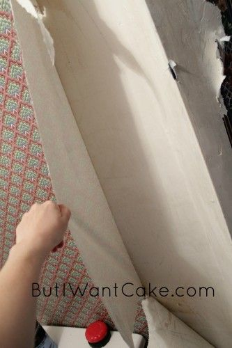 DIY Series- Remove Old Wallpaper Easily with Fabric Softener