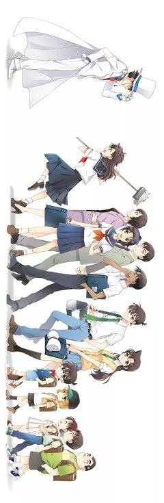 Detective Conan (I very much dislike the guy in white)