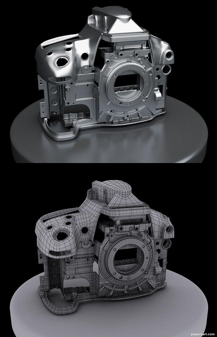 FAQ: Как у модели дем формы? Практические мини-Tuts для механической SUB-D АКА Добавить еще GEO - Страница 138 - Polycount форума