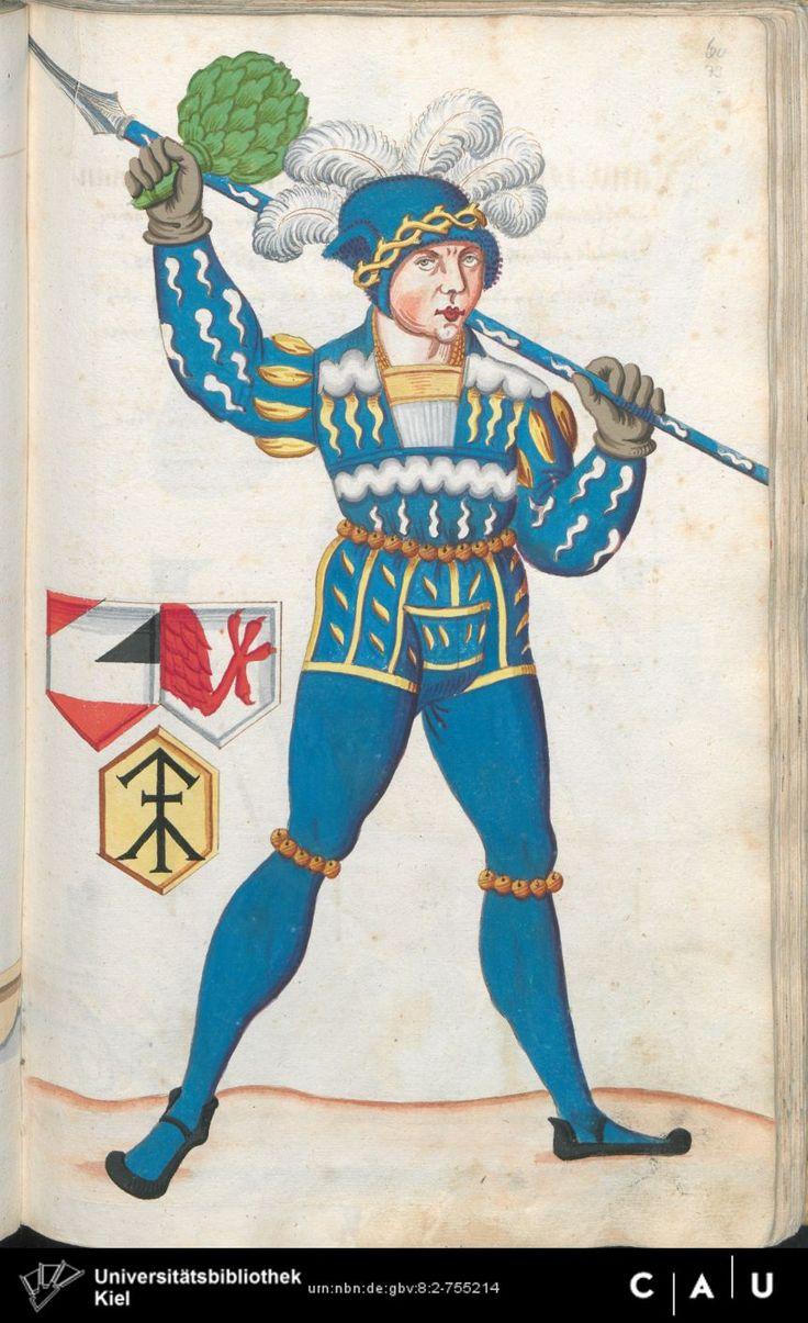 Nürnberger Schembart-Buch Erscheinungsjahr: 16XX  Cod. ms. KB 395  Folio 158