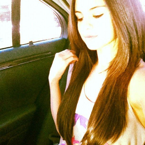 Selena Gomez' new hair.