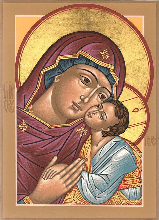 A gallery of icons of the Theotokos by master Iconographer Deacon Matthew Garrett. Icons for sale and commission, as well as info on icon classes and workshops