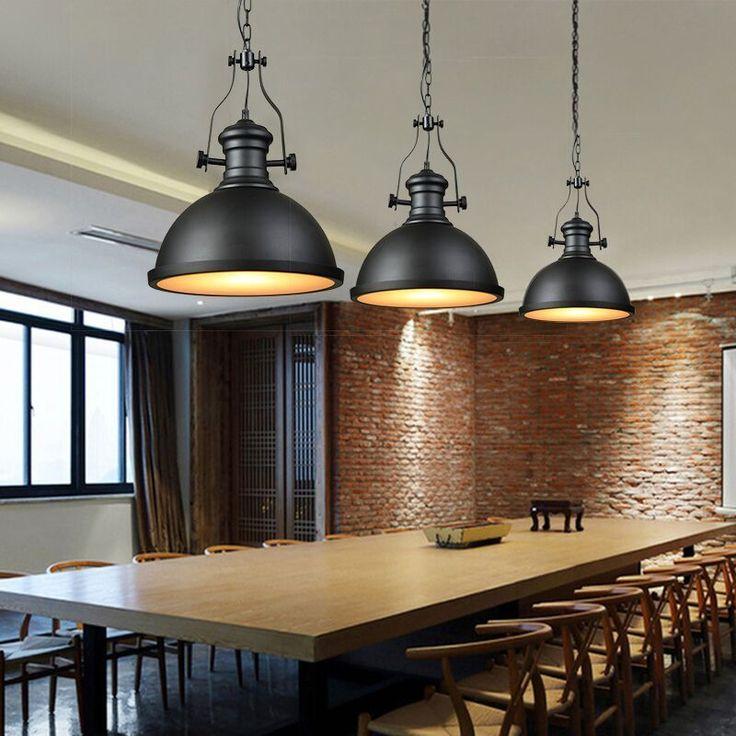 deckenleuchte pendelleuchte industrie loft retro 32 cm vintage schwarz lv3060 lofts. Black Bedroom Furniture Sets. Home Design Ideas
