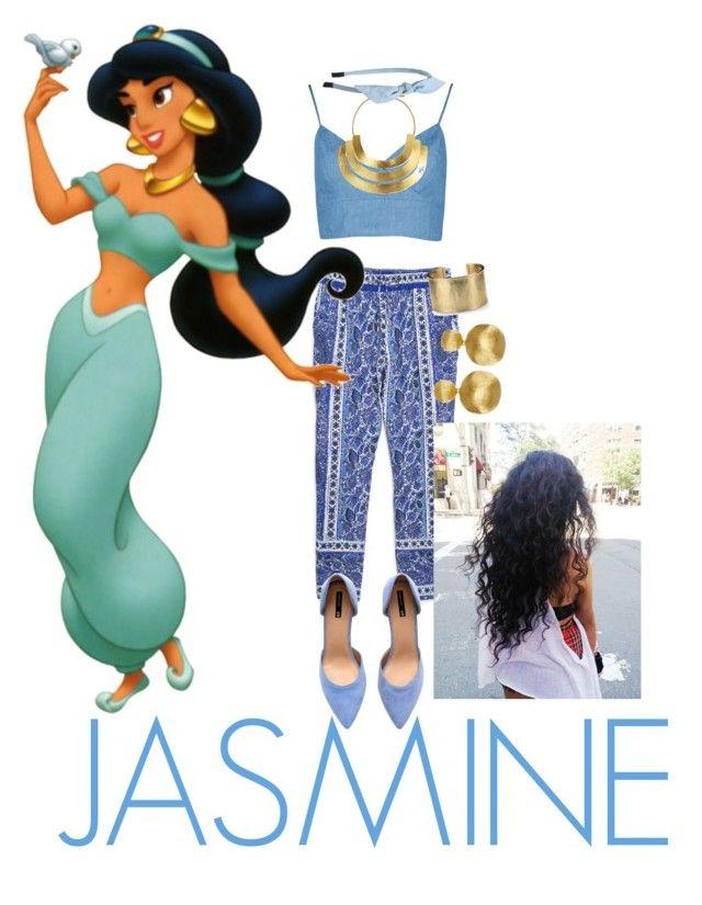 """""""Disney Princess: Jasmine"""" by annie-john on Polyvore"""