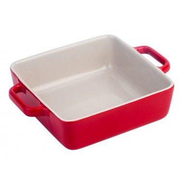 Cookplus Kare Fırın Kabı Kırmızı Medium