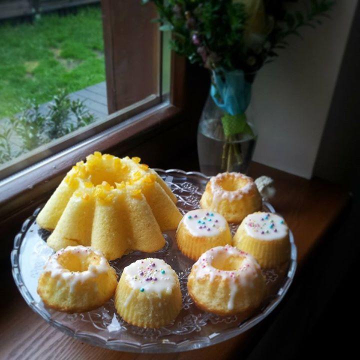 Babeczki cytrynowe na Wielkanoc / Lemon cupcake / Easter Cupcake