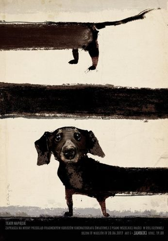 Another great example of fine dachshund art. // Dachshund in Films, Night with F… – Bella