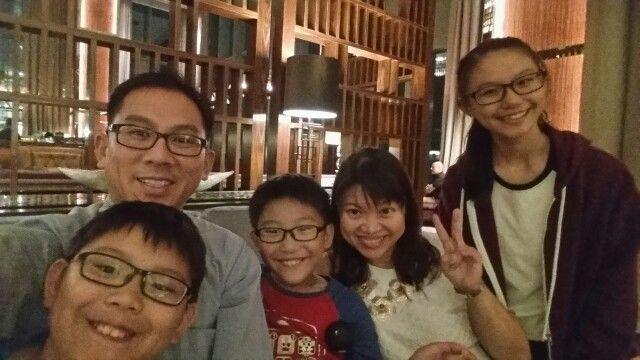 Dinner at The Westin Singapore - Sep 2015