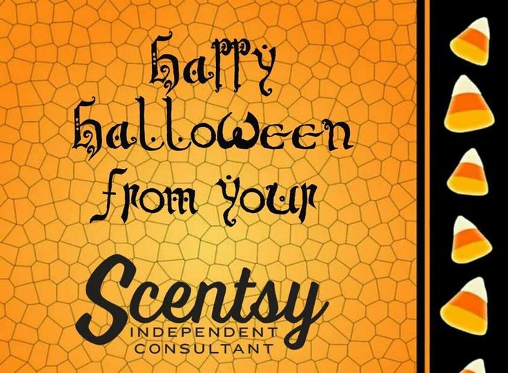 Happy Halloween from your Scentsy Independent Consultant #ScentsWithStina