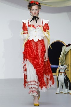 This Meadham Kirchoff look reminds us of a certain literary heroine featuring in our current issue...