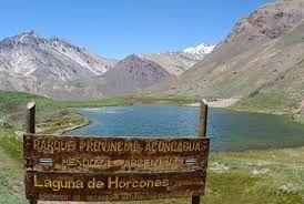 Laguna de Horcones, Aconcagua, Mendoza