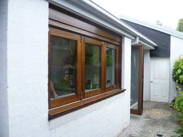 3 Panel Timber Bifold Servery Windows