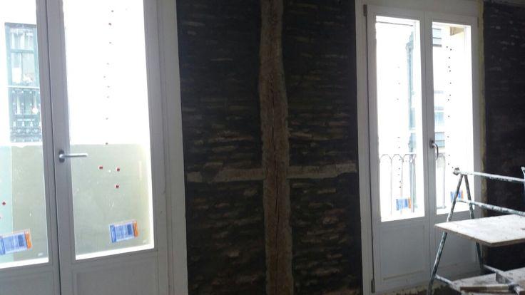 Reforma Integral vivienda en Bilbao, cambio de puertas balcón. Ventanas y Puertas PVC