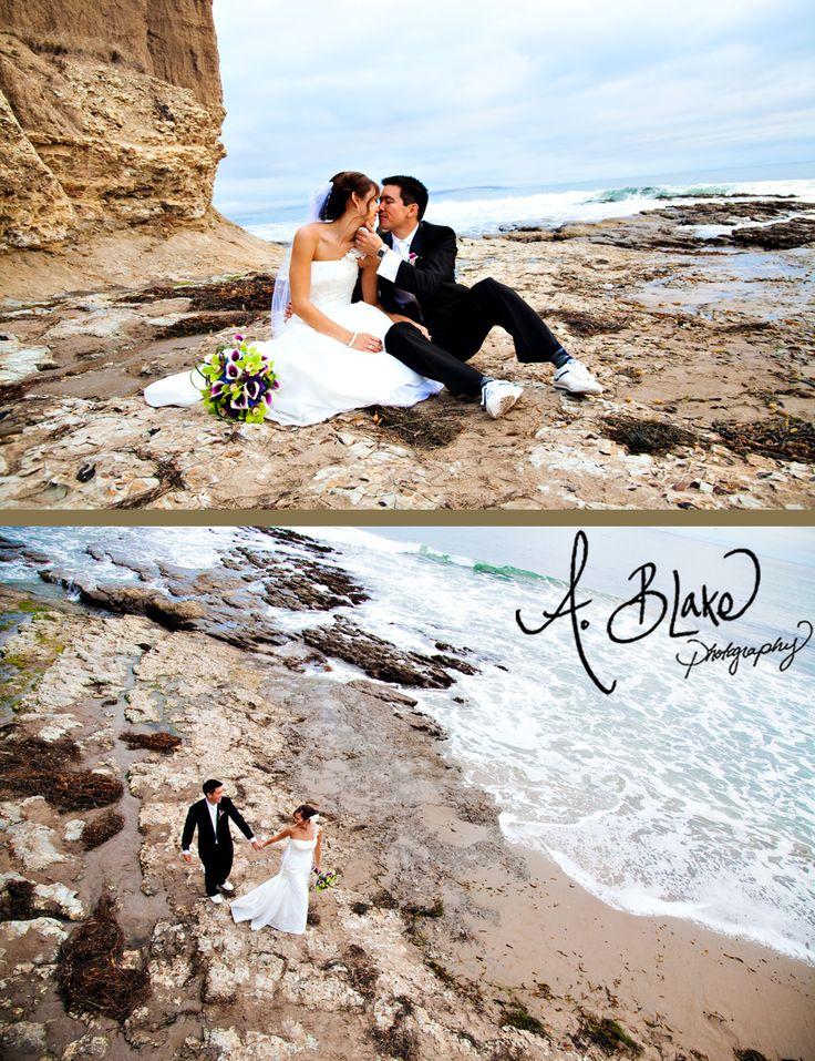 Rick and Jen's wedding at the Cliffs Resort in Pismo Beach, CA by San Luis Obispo wedding photographer Ashley Blake