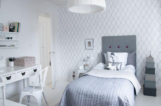 A Grey Bedroom & Gri Genç Odası