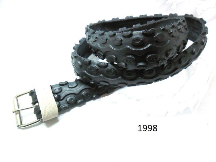 Gürtel - Damen / Herrengürtel aus recyceltem Fahrradreifen. - ein Designerstück von re-belt bei DaWanda
