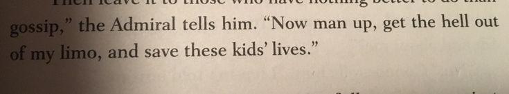 I think I've found my senior quote.