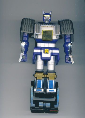 Blue wolf zord - photo#14