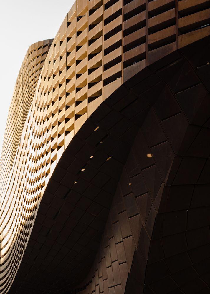 archexplorer: Detail shot of Barclays Center designed by @shoparchitects