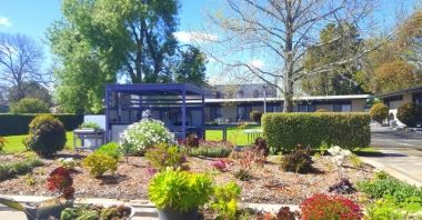 motel grounds - Meeniyan Motel