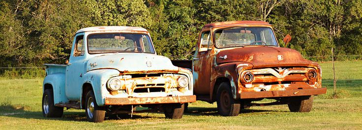 Just two old trucks