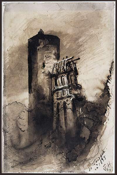 "Victor Hugo - ""La Tourgue en 1835"""