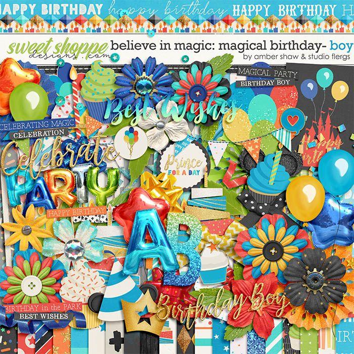Believe in Magic Magical Birthday - Boy  by Amber Shaw & Studio Flergs