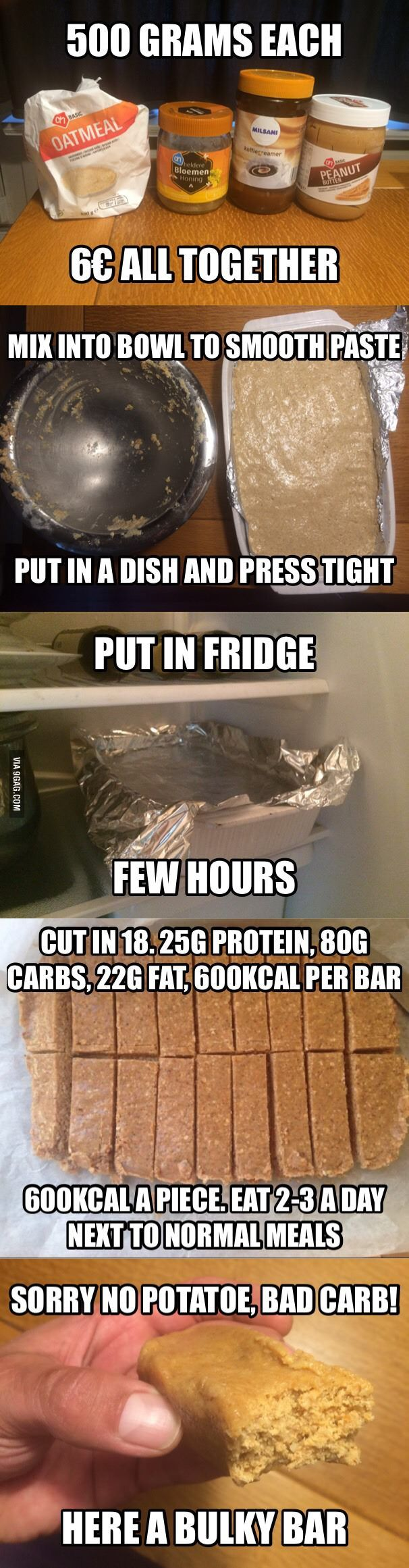 To all whining 'I can't gain weight' 9gaggers: thank me later. - 9GAG