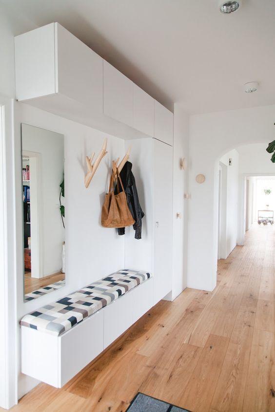 WOHN:PROJEKT – der Mama Tochter Blog für Interior, DIY, Dekoration und Kreatives : Vorher/Nachher: Der Eingangsbereich und die geheime Ecke