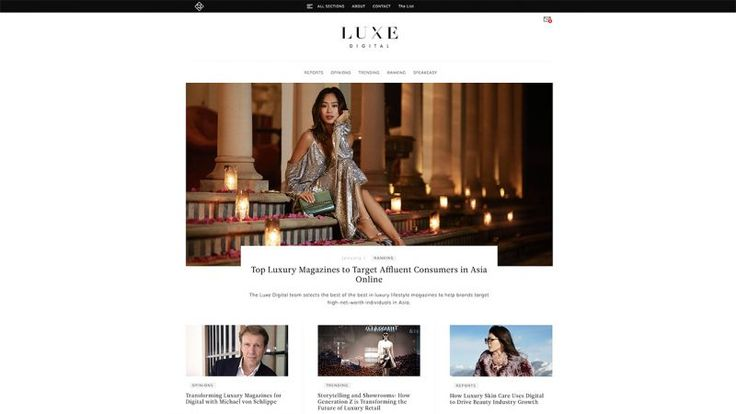 #DOTD Luxe Digital Insights on the Luxury Industrys Digital Transformation by mOOnshot digital #Singapore #Website