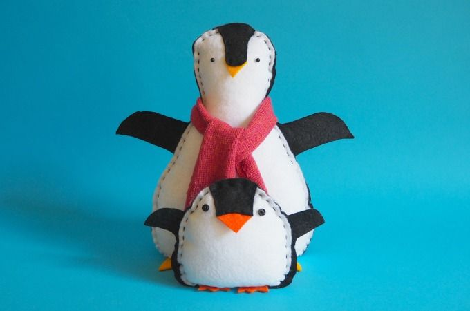 penguin softie kids can make