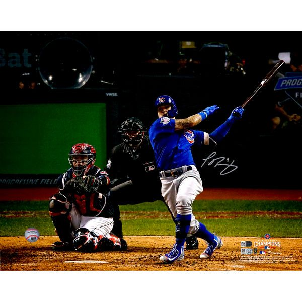 "Javier Baez Chicago Cubs Fanatics Authentic 2016 MLB World Series Champions Autographed 16"" x 20"" World Series Photograph - $129.99"