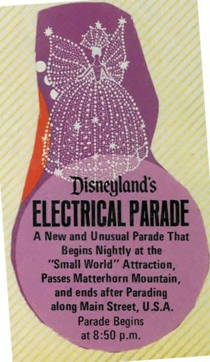 Disneyland - Summer, 1972 - The year the Main Street Electrical Parade was first introduced.